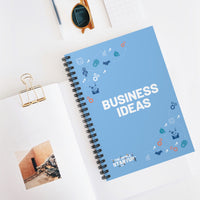 """Business Ideas"" Spiral Notebook - Ruled Line"