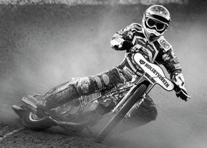 Speedway in the dirt 140*100 cm - edition of 50