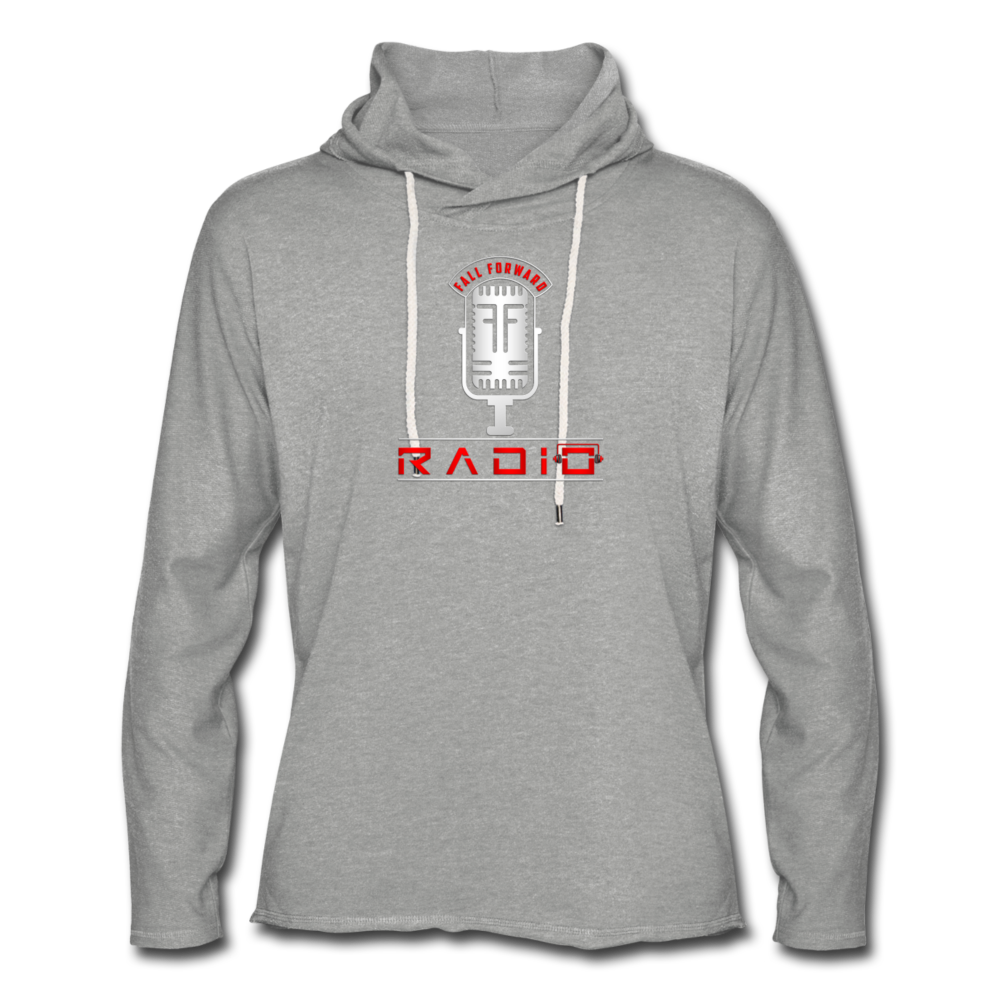 Womens Hoodie Light - heather gray