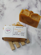 Load image into Gallery viewer, Coconut, Turmeric & Honey soap - YAWA & CO