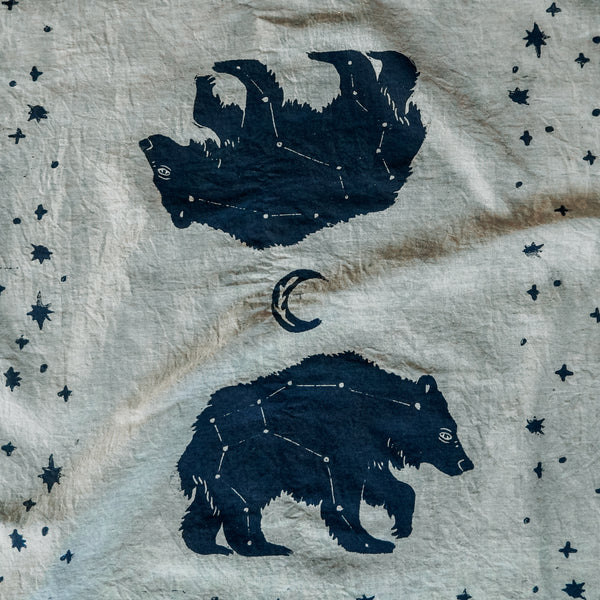 Ursa Major Block-Printed Bandana