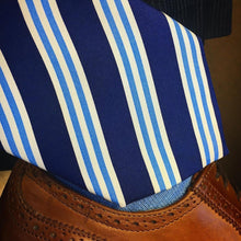 Load image into Gallery viewer, The Twisted Fin Classic Striped Tie