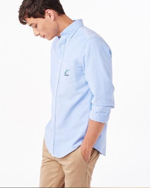 Port Royal Cotton Oxford Button Down Shirt