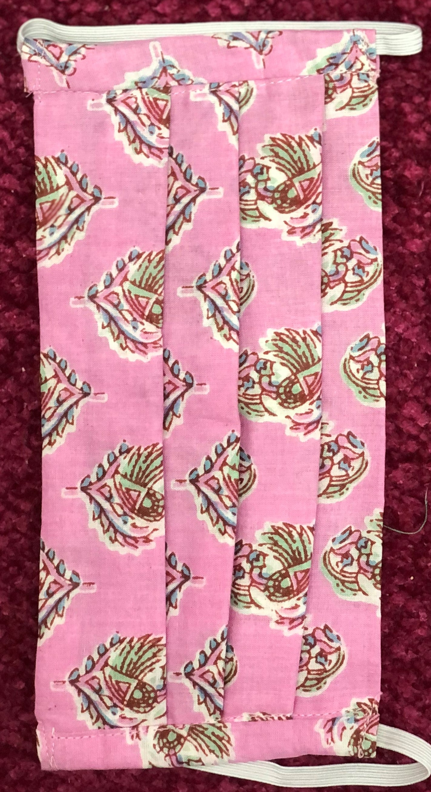 Pink and Blue Floral- Set of 2