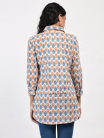Load image into Gallery viewer, Block Printed Fitted Shirt
