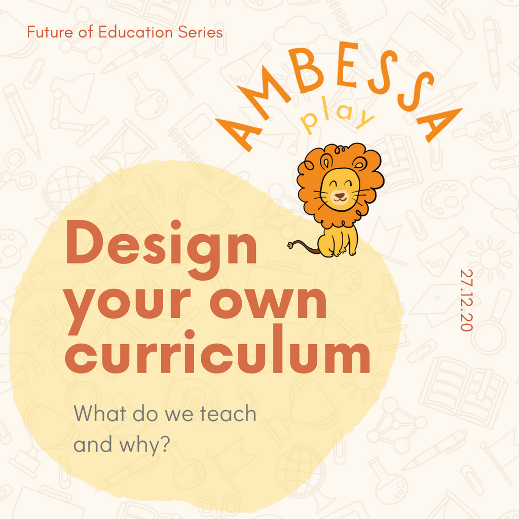 Design your own curriculum