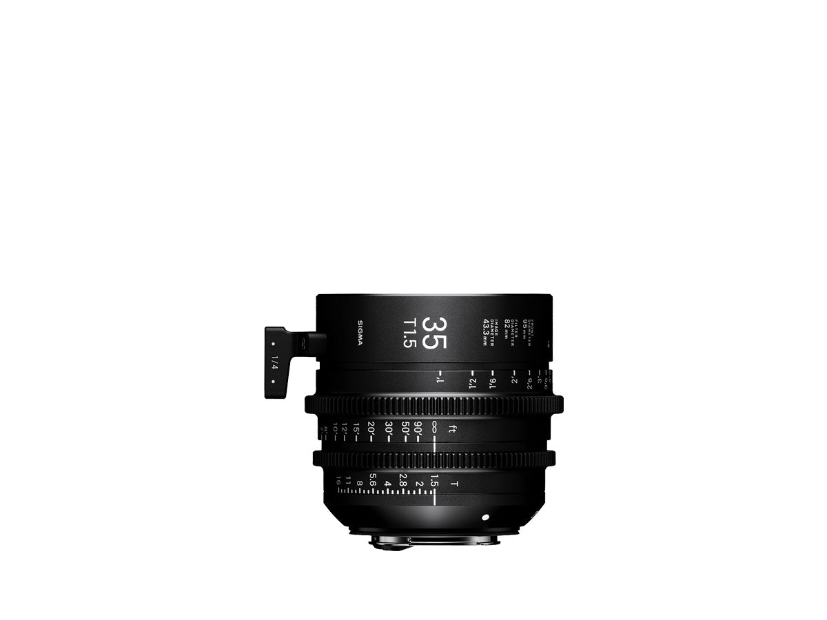 SIGMA CINE LENS / 35mm T1.5 FF【 FF High Speed Prime Line 】