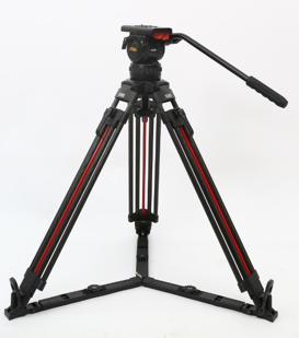 TERIS TS100CF-Q Fluid Head & Tripod Kit