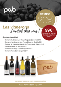 Six vins français d'exception