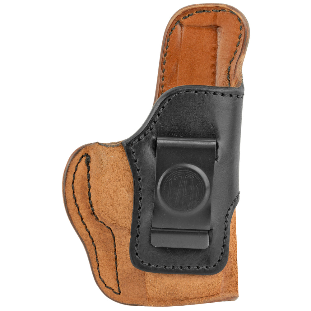1791 Gunleather Rch – Holster Conceal Carry Holster Rh Size 3 Brown On Black