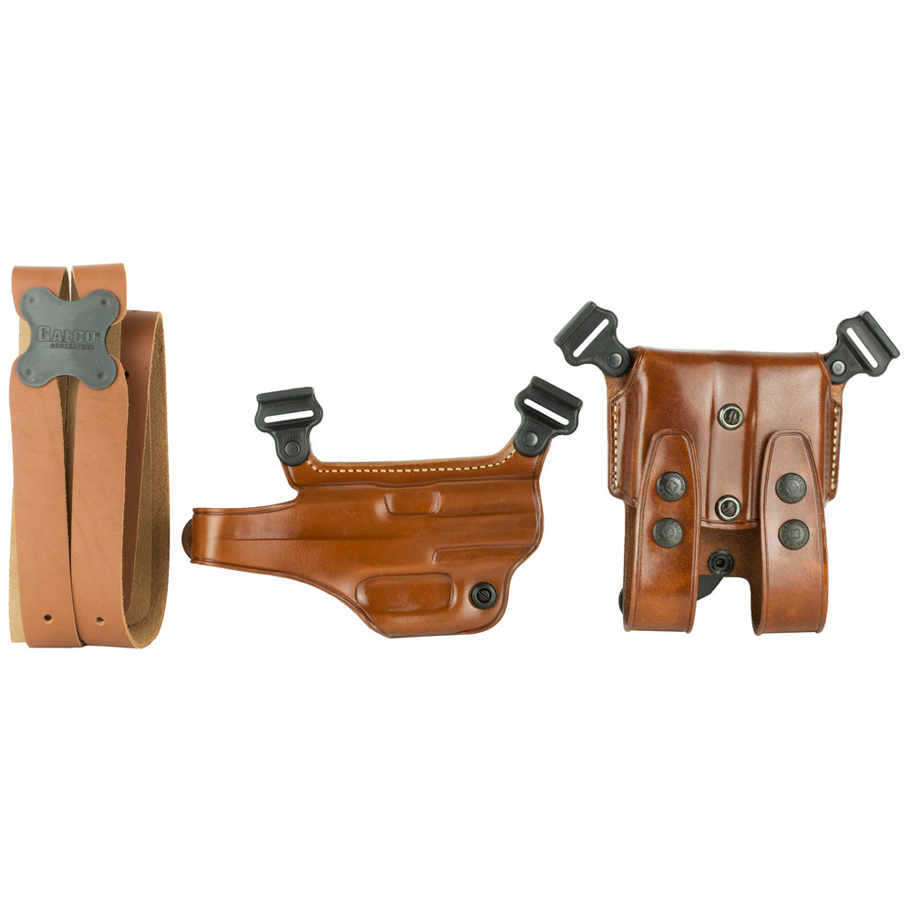 Galco Miami Classic Shoulder Holster, Fits Hk Usp 9Mm/.40S & W/.45Acp, Right Hand,
