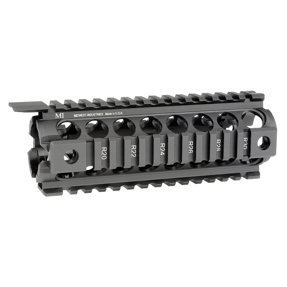 Midwest Industries Gen2 Two-Piece Drop-In Handguard Carbine Length Black