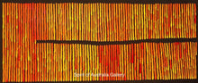 "Load image into Gallery viewer, Ronnie Tjampitjinpa, ""Fire Dreaming"", 150x60cm"