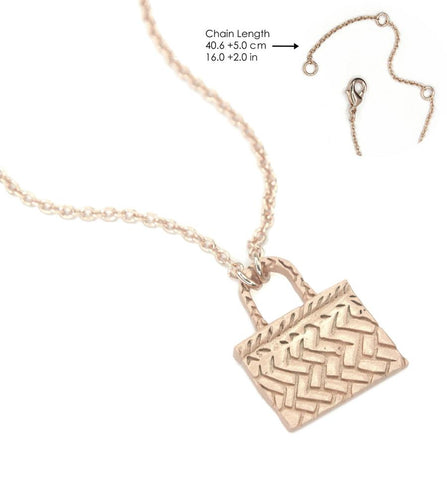 Rose Gold Kete Necklace