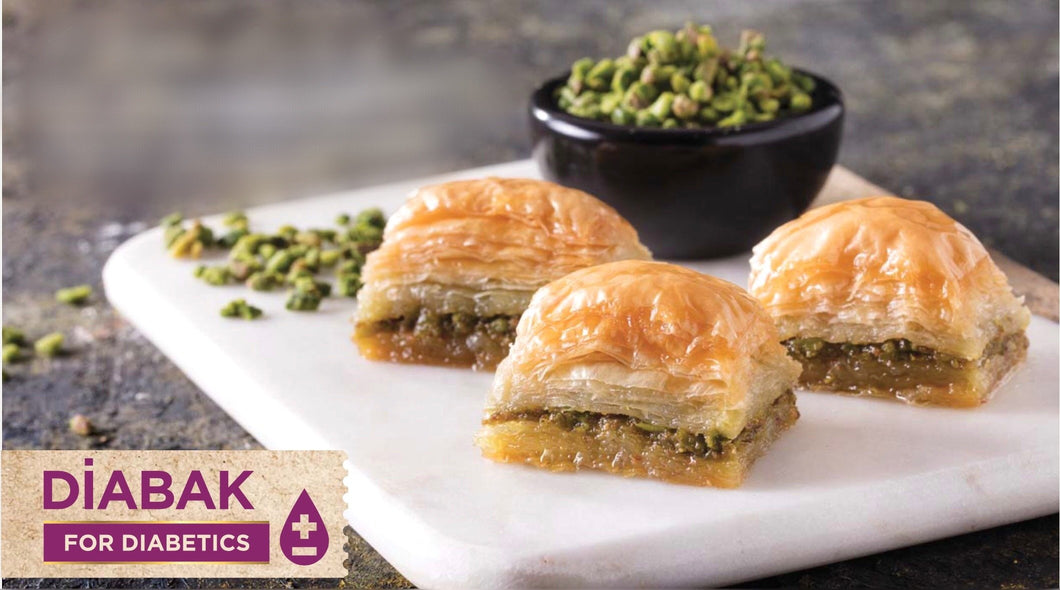 Diabak (%100 Sugar Free-Low Glycemic Index) with Pistachio