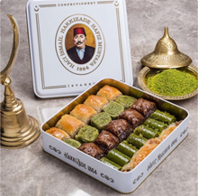 Load image into Gallery viewer, assorted-baklava-small-metal-box
