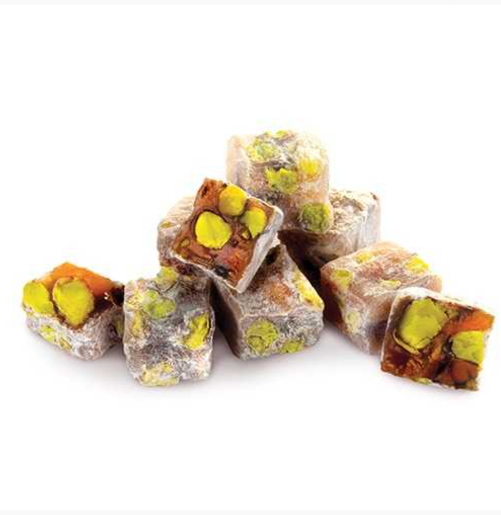 Turkish Delight with Double Pistachio