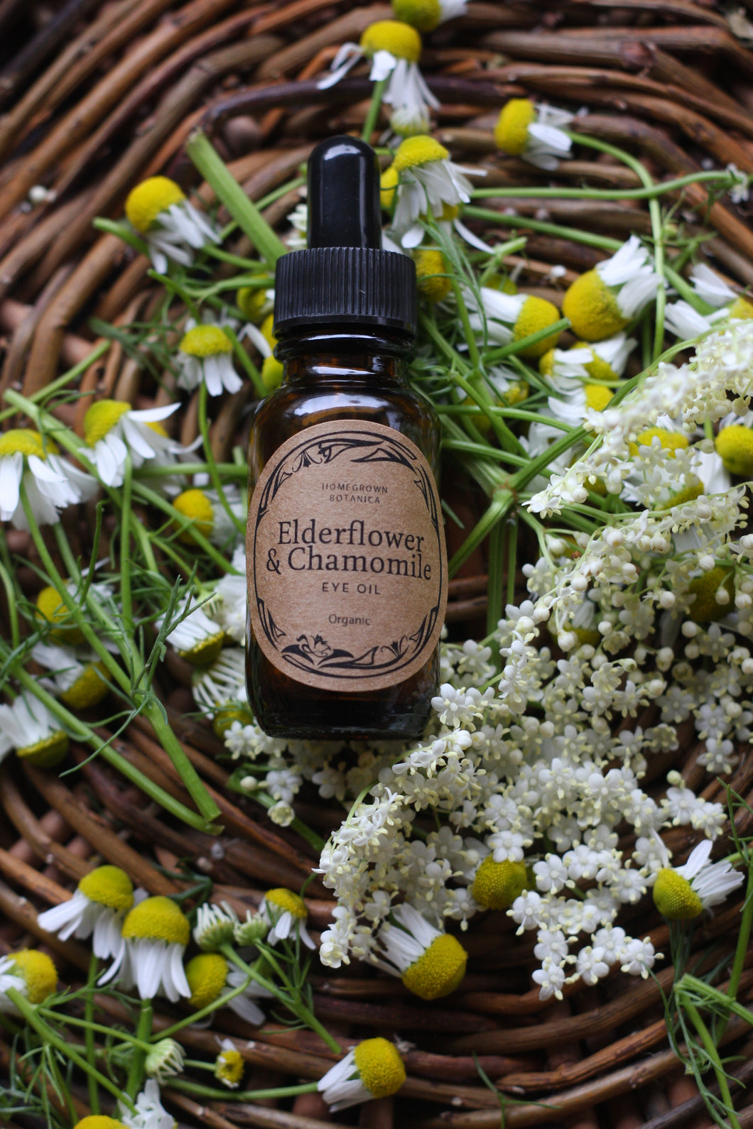 Elderflower & Chamomile Delicate Eye Oil