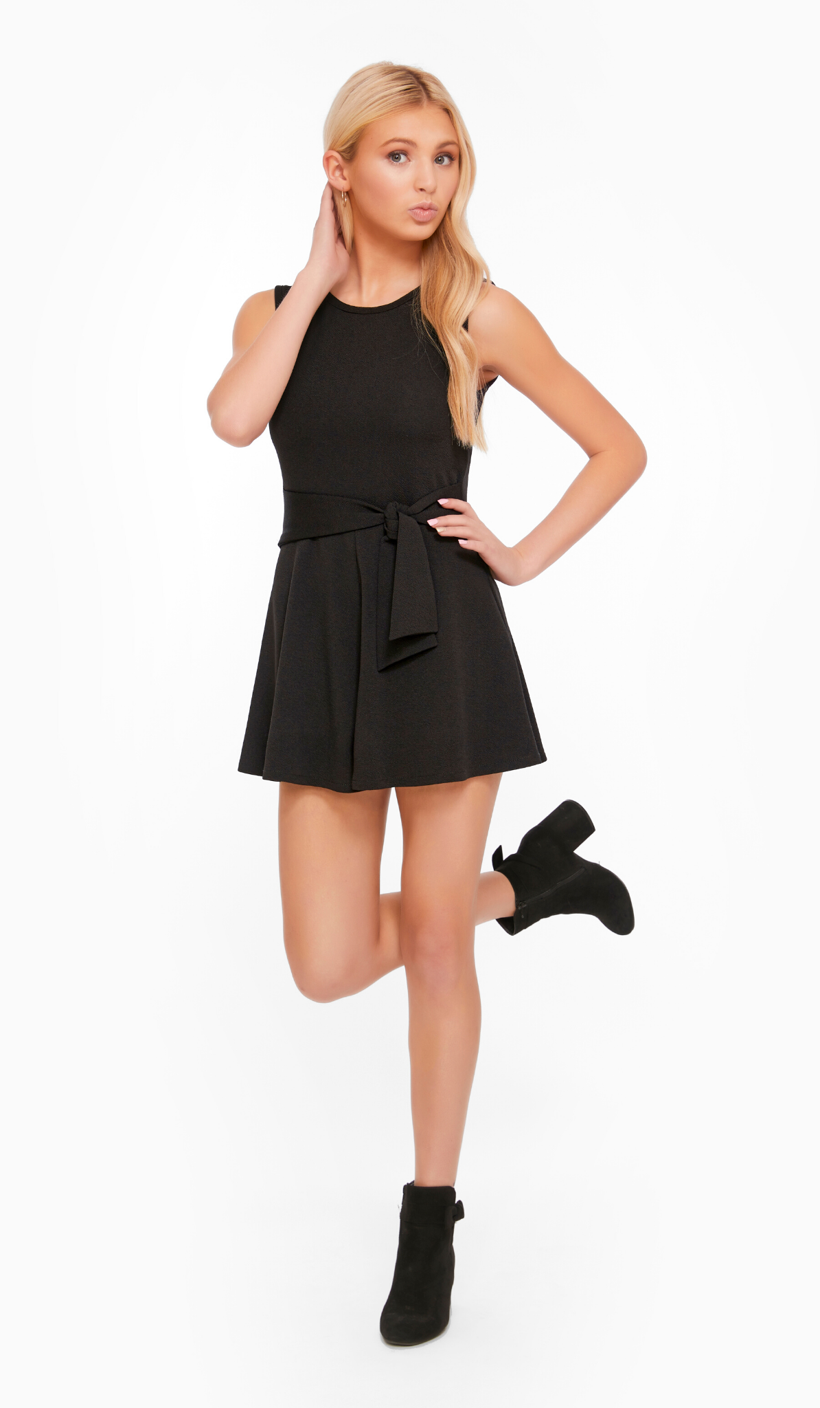 THE SIDE TIE ROMPER (JUNIORS)