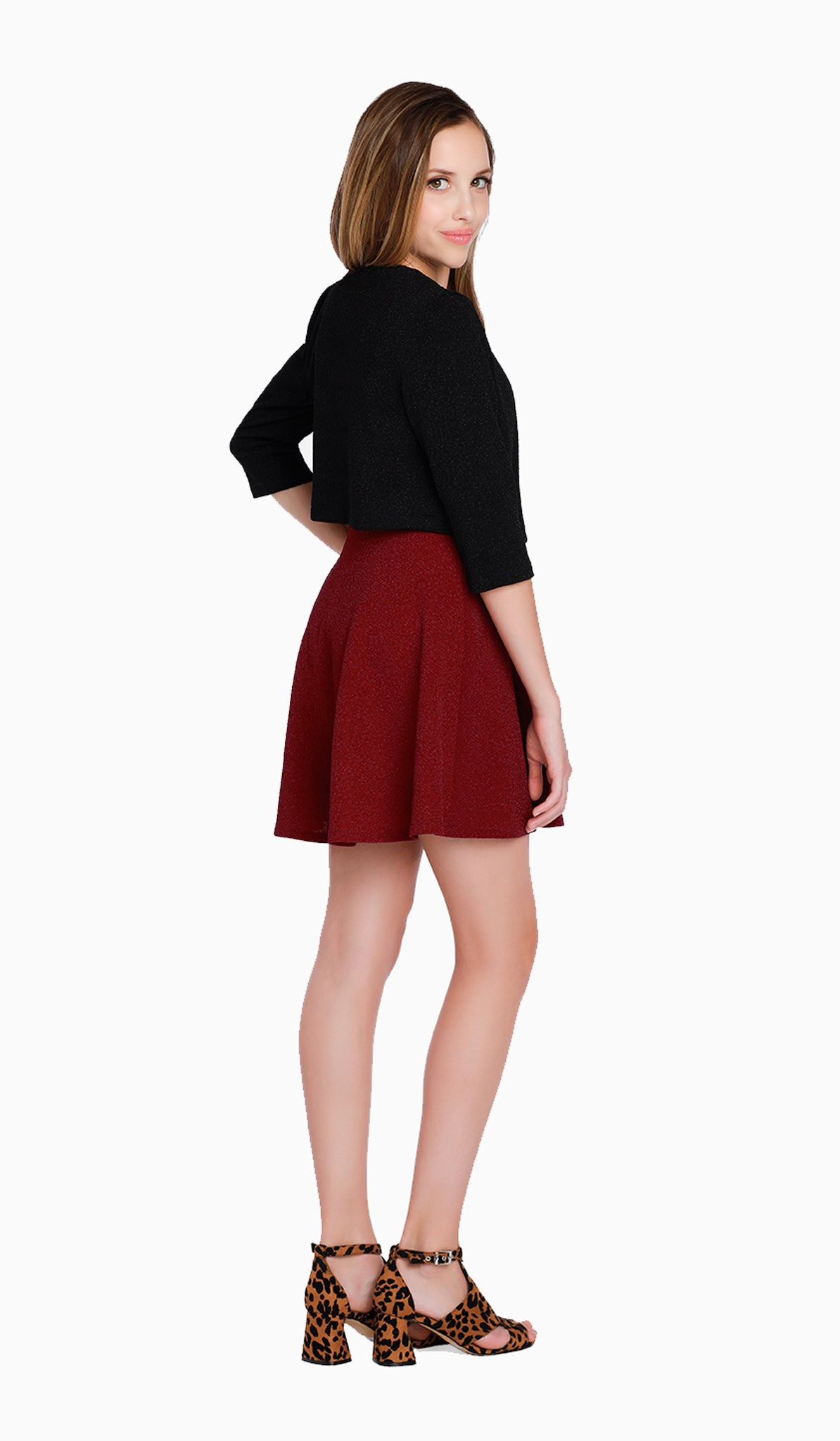 Sally Miller Main Event Jacket | Black stretch-knit bouclé jacket |  | Luxury tween dresses & juniors dresses for all occasions and events