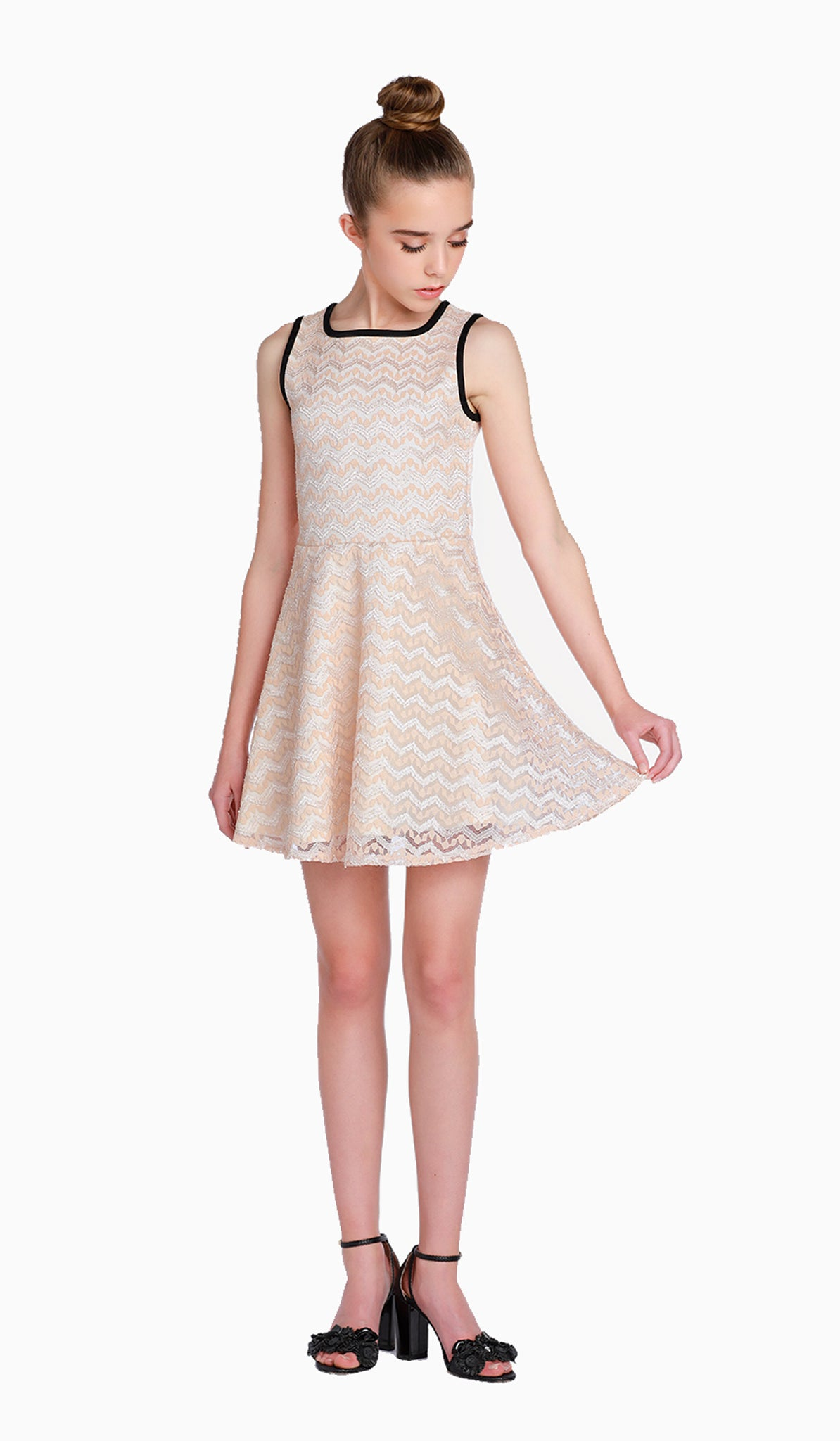 THE LUNA DRESS - Sallymiller.com - [variant title] - | Event & Party Dresses for Tween Girls & Juniors | Weddings Dresses, Bat Mitzvah Dresses, Sweet Sixteen Dresses, Graduation Dresses, Birthday Party Dresses, Bar Mitzvah Dresses, Cotillion Dresses