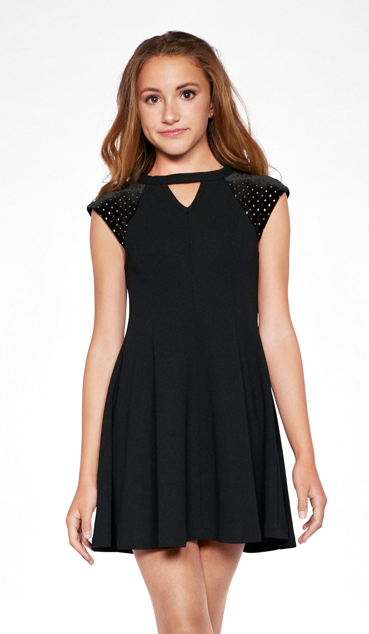 Sally Miller black skater dress