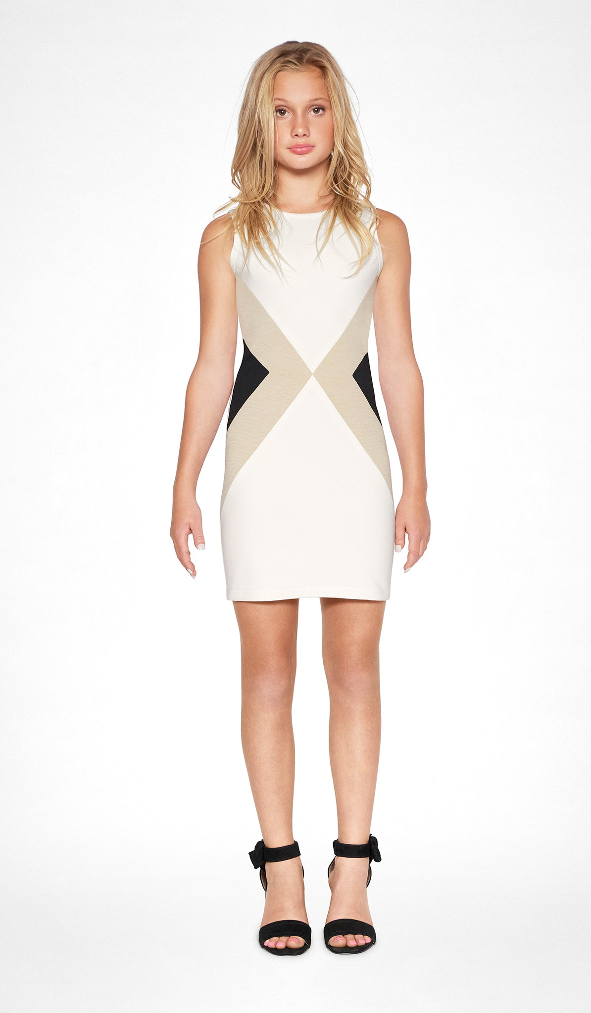 Sally Miller ivory bodycon dress