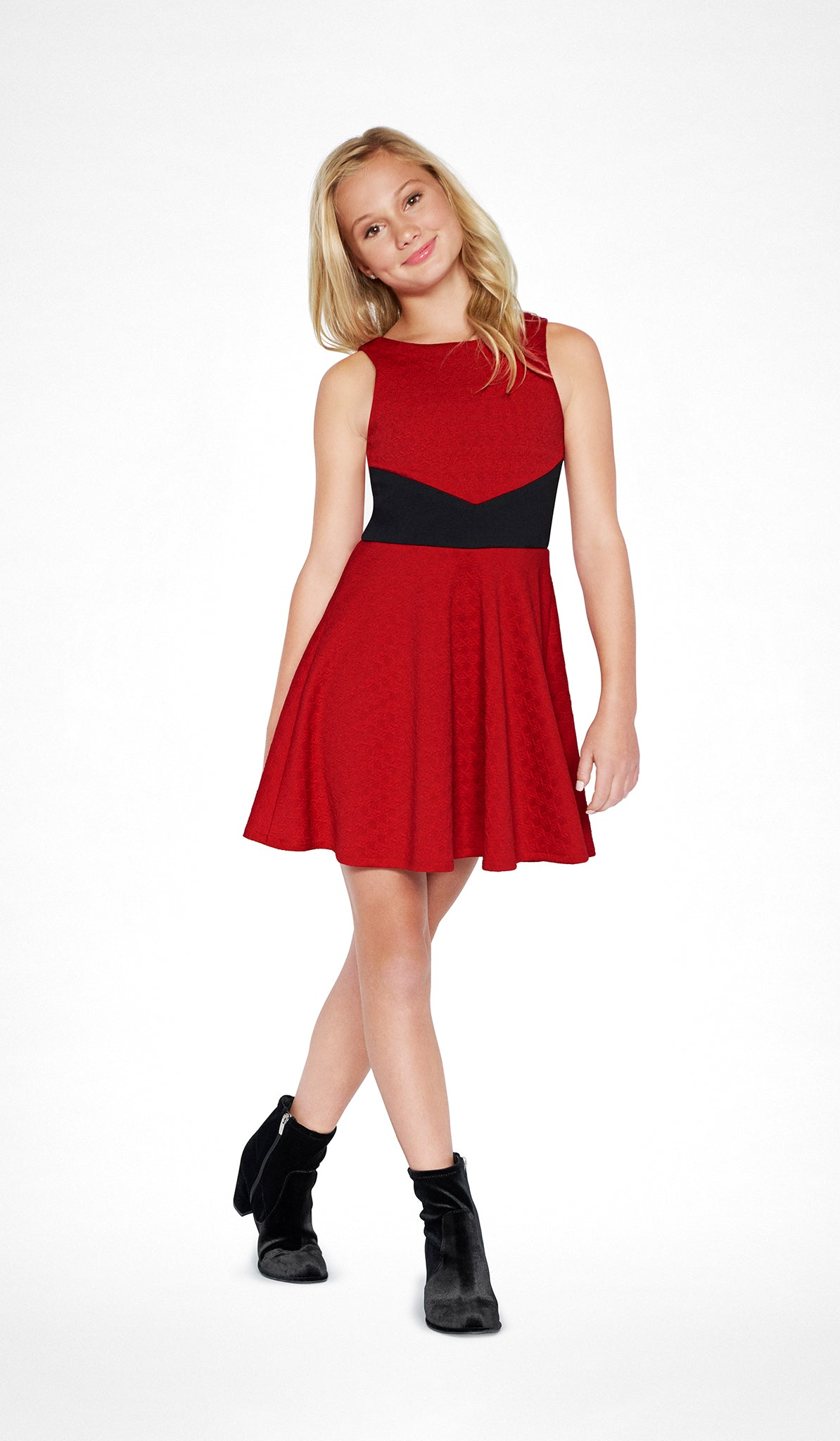 THE SCARLET DRESS - Sallymiller.com - [variant title] - | Event & Party Dresses for Tween Girls & Juniors | Weddings Dresses, Bat Mitzvah Dresses, Sweet Sixteen Dresses, Graduation Dresses, Birthday Party Dresses, Bar Mitzvah Dresses, Cotillion Dresses