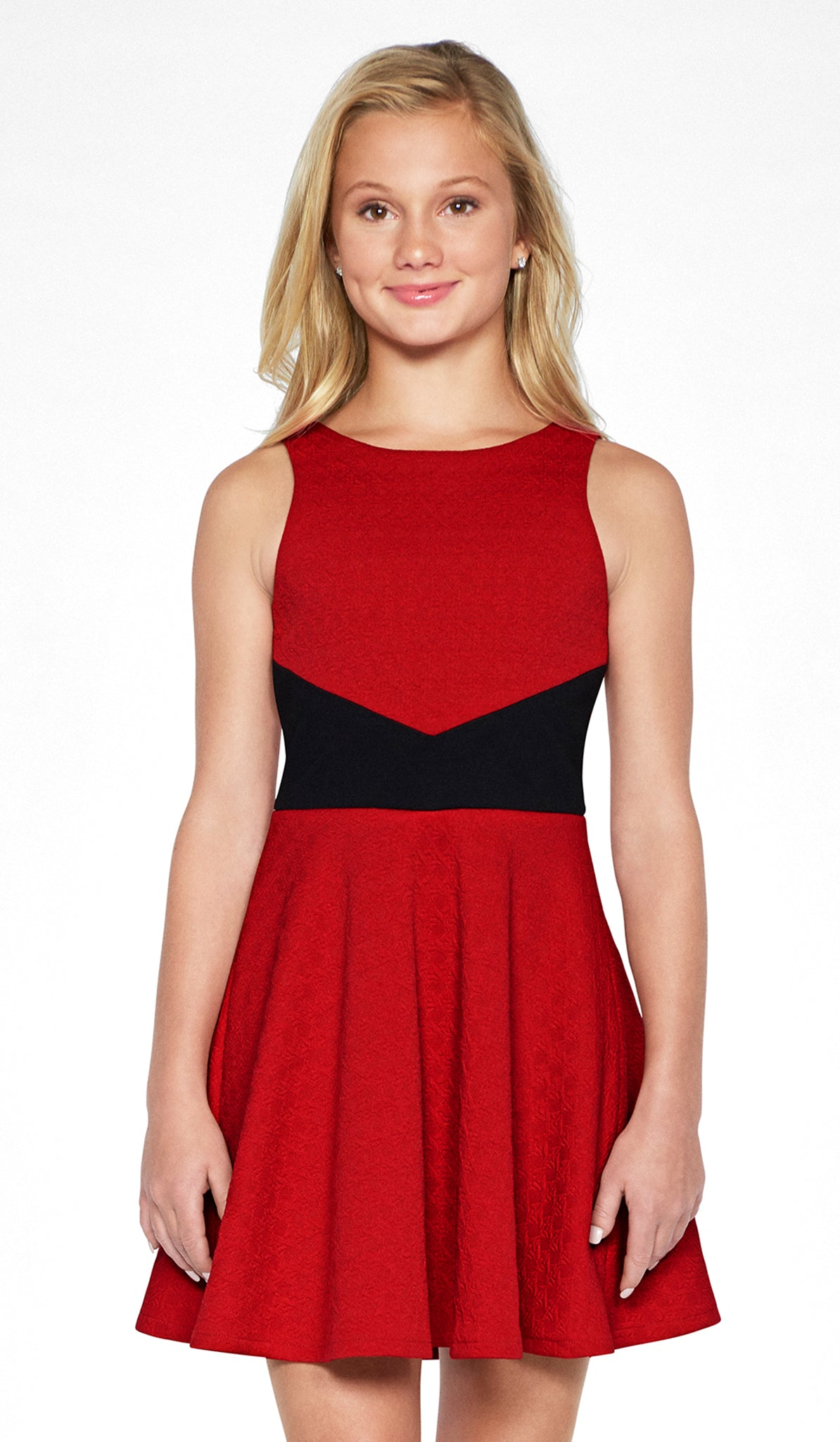 Sally Miller red skater dress