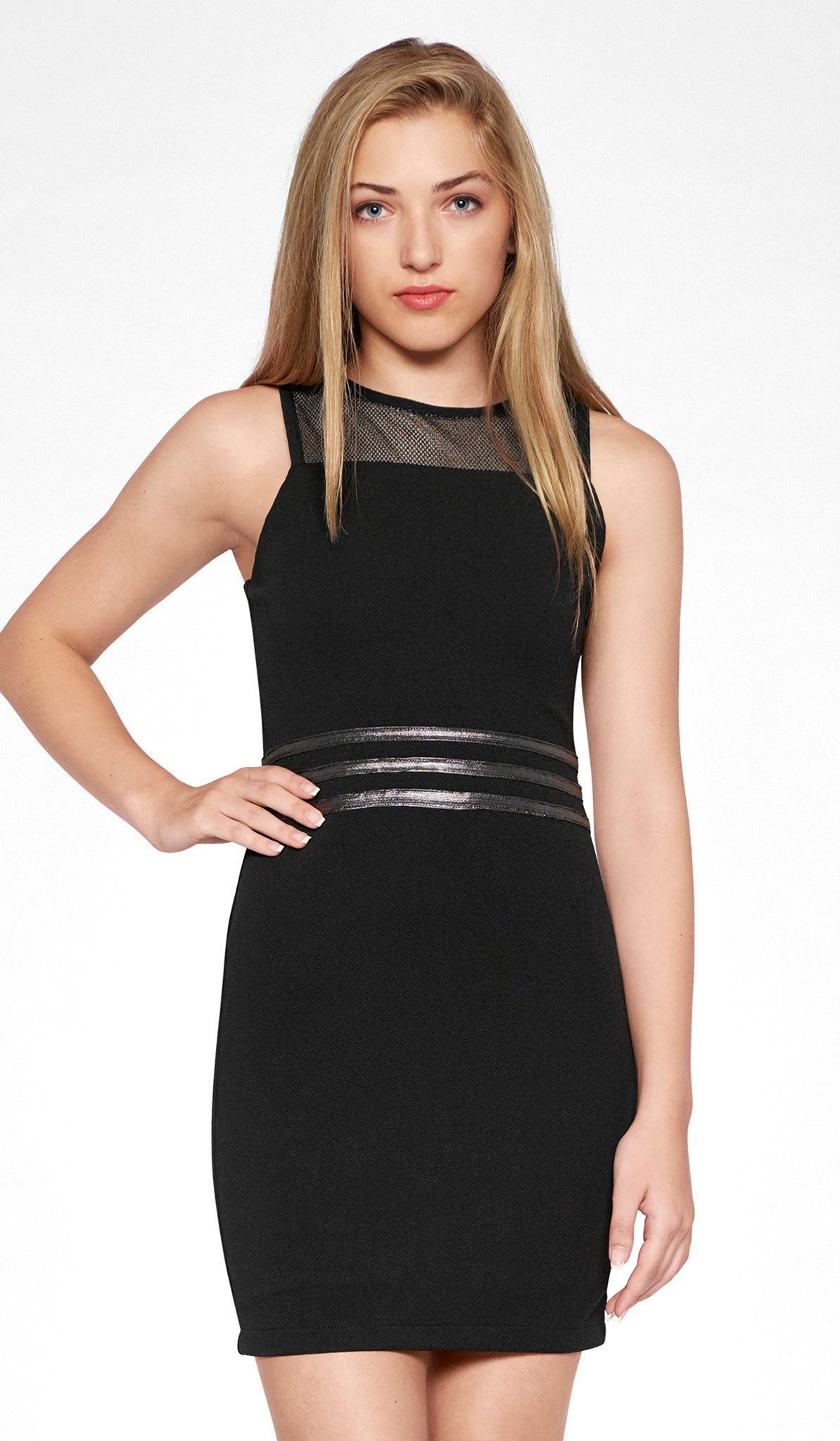 Fashion week Silver and Black dresses for juniors for girls