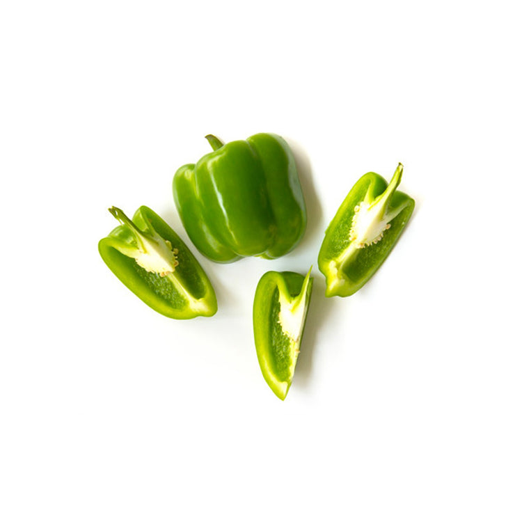 Bell peppers – Green - 2 pcs