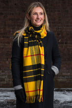 Load image into Gallery viewer, Ultrafine Merino Tartan Scarf - RWS Certified