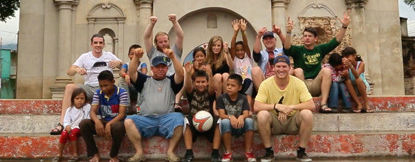 Vivid Roots Team in Guatemala With Kids