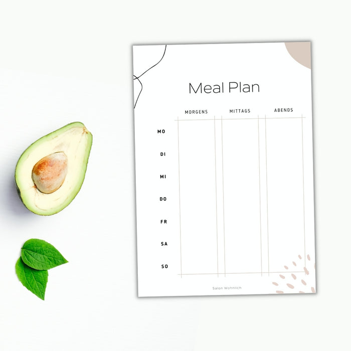 Meal Plan Download
