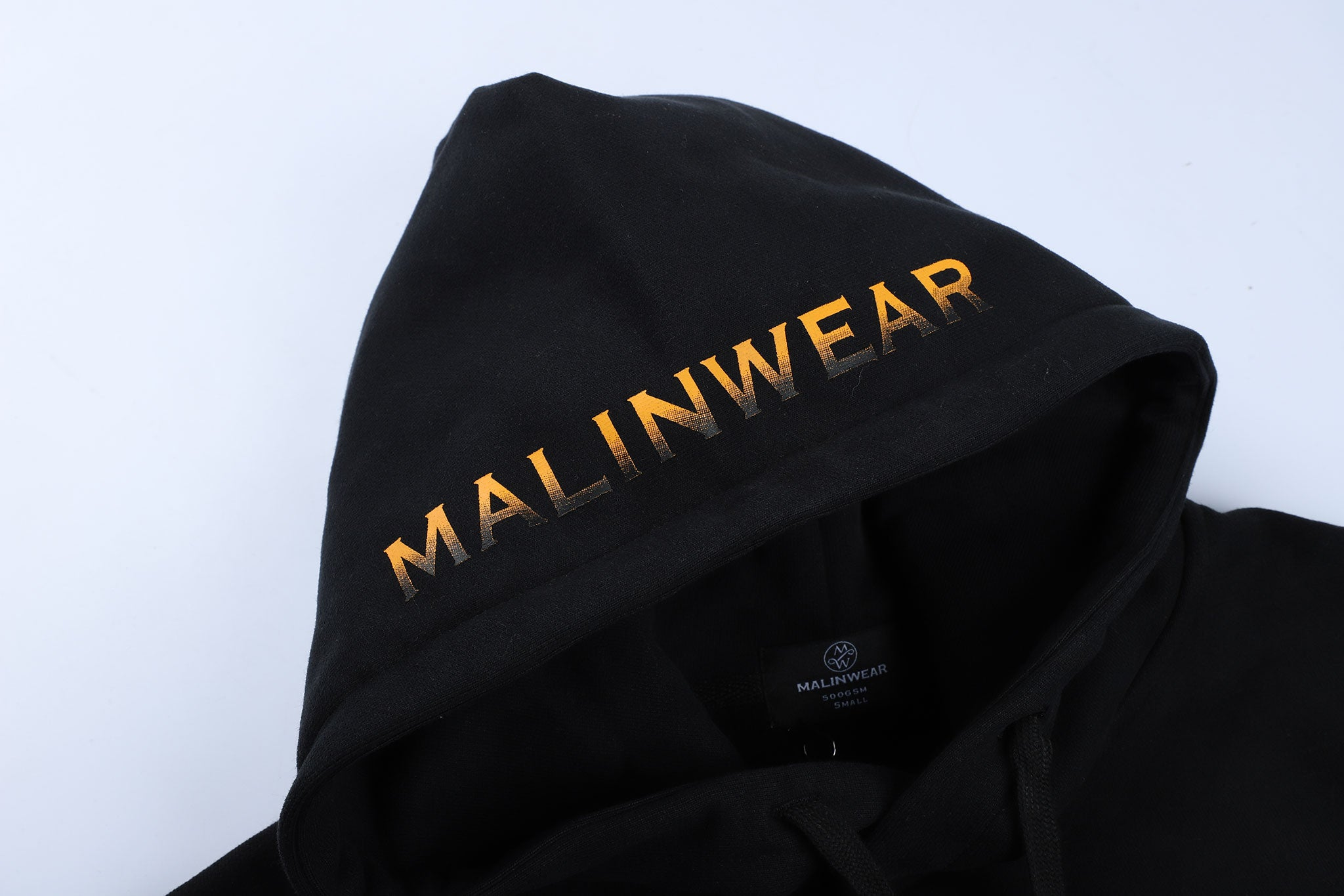 MALINWEAR Exclusive Black Winter 500 GSM Hoodie-Malinwear