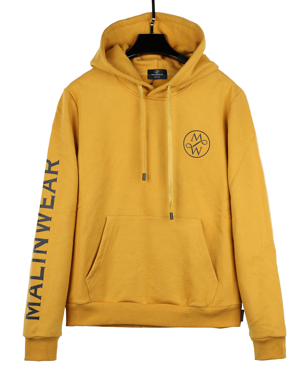 MALINWEAR Exclusive Pumpkin Winter 500 GSM Hoodie-Malinwear