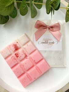 Hibiscus & Coconut Scented Wax Snap Bar