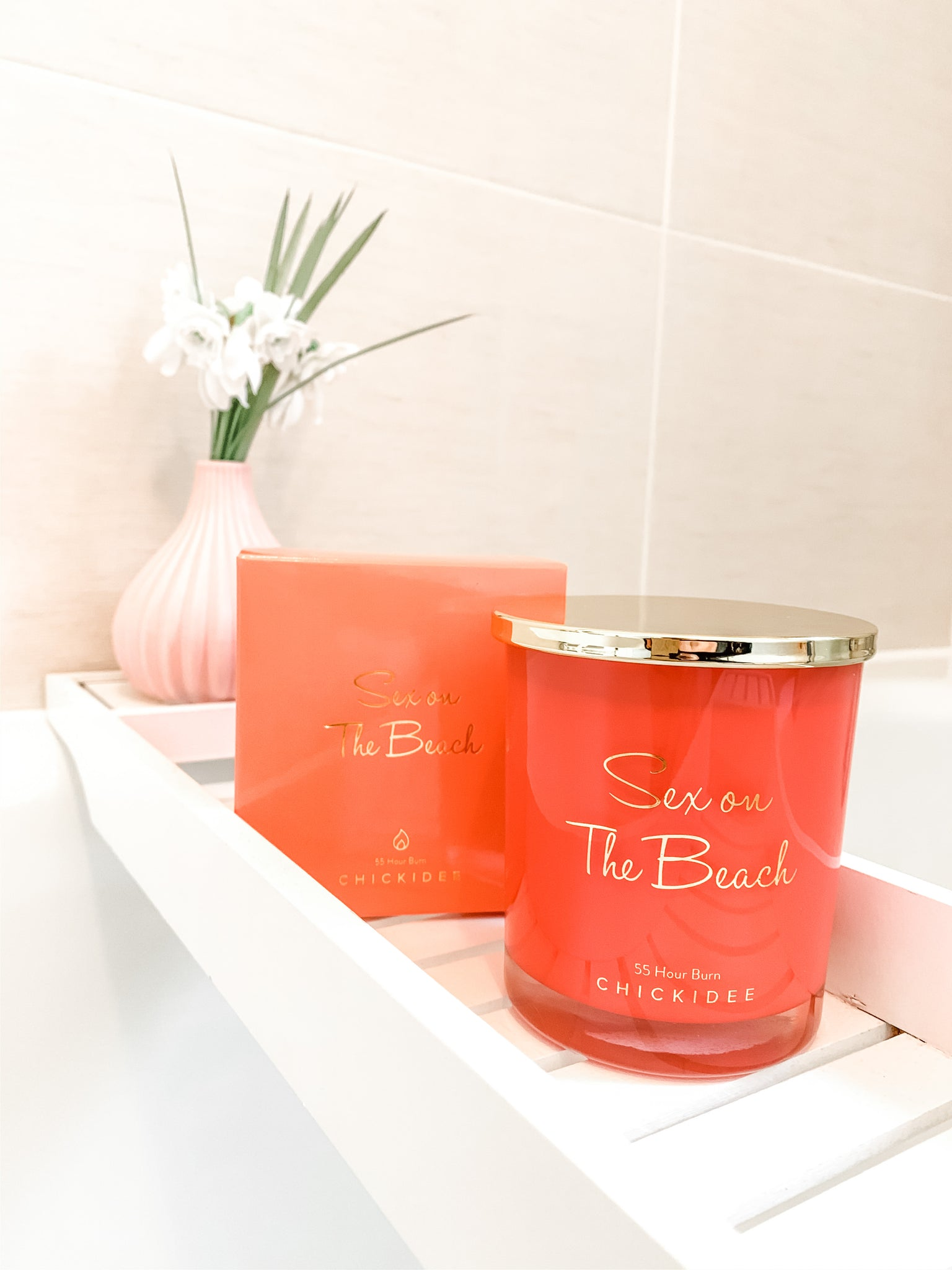 Sex On The Beach Scented Soy Wax Candle