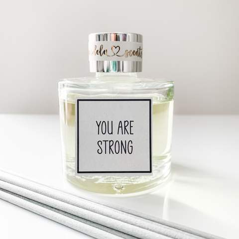 Inspirational Range 'You Are Strong' Luxury Reed Diffuser 100ml