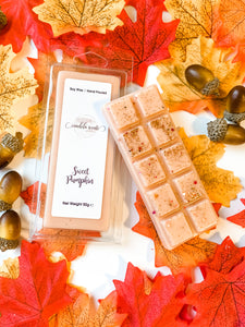 Sweet Pumpkin Scented Wax Snap Bar