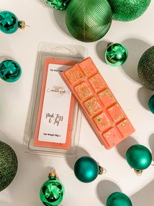 Pink Fizz & Fig Scented Wax Snap Bar