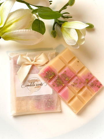 Strawberry Fizz Scented Wax Snap Bar
