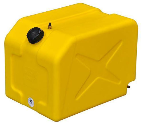 Boab 40L CUBE POLY Diesel tank (SKU: FTP40J) - Canyon Off-Road