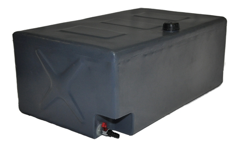 Boab 120L Universal Rectangle POLY water tank (SKU: WTP120U) - Canyon Off-Road