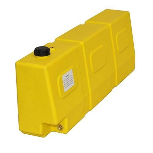 Boab 50L Tapered POLY Diesel tank (SKU: FTP50T) - Canyon Off-Road