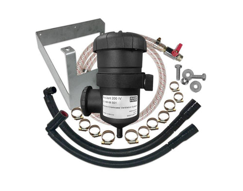 FORD EVEREST (2015-2021) 3.2L TURBO DIESEL PROVENT PV200 CATCH CAN OIL SEPARATOR KIT inc DUAL BRACKET (SKU: PROV-20B) - Canyon Off-Road