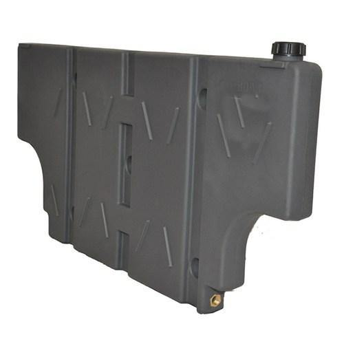 Boab 42L Vertical POLY water tank with cut-outs (SKU: WTP48V) - Canyon Off-Road