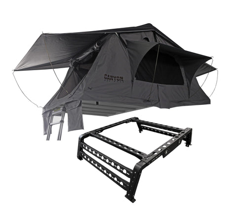Roof Top Tent Package - 2 Person Soft Shell Tent - Canyon Off-Road