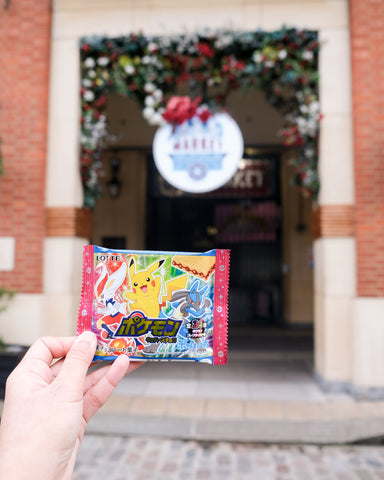 LOTTE Pokemon Wafer Chocolate with a Sticker