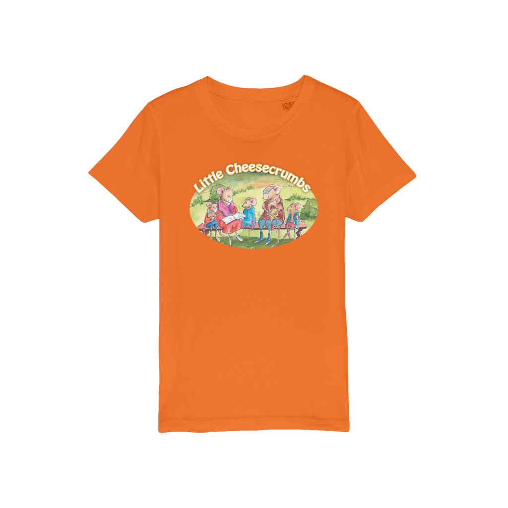 Little Cheesecrumbs Jersey Kids T-Shirt